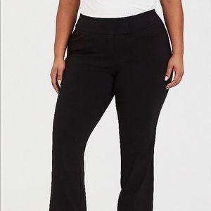 Torrid Studio Classic Millennium Stretch Trouser